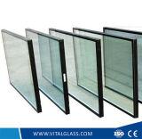 Reflexivo dourado/moderou o vidro laminado/flutuador de vidro/desobstruído construção modelada vidro figurado