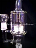 pipes de fumage en verre de conduite d'eau du modèle a-72 en verre le plus neuf de tabac