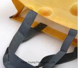 カスタムサイズの薄板にされた非編まれたショッピング・バッグ、