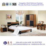 إيطاليا نوم جلد سرير الكبار محدد الأثاث الخشبي (SH-010 #)