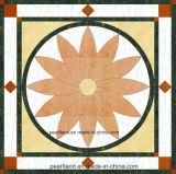 円形パターン磨かれた磁器のタイル