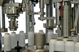 Máquina de rellenar y máquina de etiquetado automática del lacre para el relleno del gas