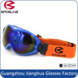 カスタマイズされた二重レンズ適用範囲が広いフレームのスノーボードのスキーゴーグル/メンズスキーゴーグル