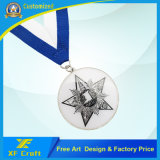 포상 (XF-MD33)를 위한 싼 주문 Offest에 의하여 인쇄되는 에폭시 금속 메달
