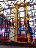 Het geautomatiseerde Systeem van de Opslag en van de Herwinning (ASRS) met de Kraan van de Stapelaar