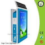 Novo Produto Outdoor Advertising LED Solar Light Box
