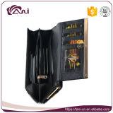 Изготовления бумажника Fani нестандартная конструкция кожаный ваш собственный бумажник