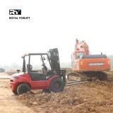 Königlicher rauer Terrian Dieselgabelstapler mit der Kapazität 2000kg
