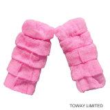 Le modèle mignon personnalisent des chaussettes d'animal familier tricotant l'usure de pattes de crabot