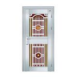 Diseño exterior de la puerta del acero inoxidable para la casa
