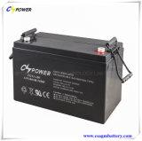 batterie de gel de 12V100ah VRLA, batterie solaire, batterie profonde de cycle