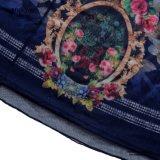 Robe florale de coton de dames Bodycon de Mlle You Ailinna 801846 avec la maille