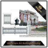 Cerca de jardim de alumínio com garantia de qualidade com alta segurança