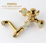 Nouvelle conception Single Handle Zf-705 Ensemble de douche en laiton jade