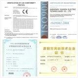 Der China-Oberseite-10 Steuerung Marken-Frequenz-des Inverter-Yx3000 der Serien-V/F 3 Phase Wechselstrom-Laufwerk 60Hz
