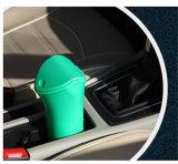Mini bote de basura plástico del cubo de la basura del cubo de basura del coche
