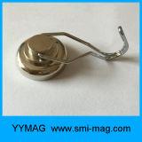 Crochets magnétiques avec l'oeil à queue filetée