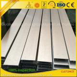 Profilo di alluminio di spazzolatura dell'espulsione della fabbrica per la riga d'angolo decorazione