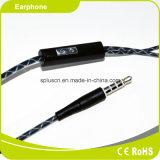 120cm Draad MP3&MP4 en de Oortelefoon van de Computer met Microfoon