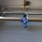 Máquina de gravura de couro profissional com a tabela de trabalho de 1000*800mm (JM-1080H)