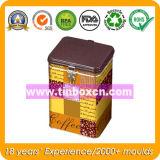 금속 음식 주석 상자 포장을%s 정연한 주석 커피 캔