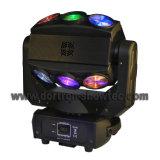 LEIDENE Straal die het HoofdPixel RGBW beweegt van het Lichteffect 9X15W 4in1