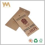 Étiquette personnalisée de coup de vêtements d'étiquette de papier d'emballage