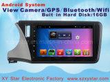 для навигации GPS DVD-плеер автомобиля системы Хонда Greiz Android для экрана касания 10.1inch с Bluetooth/WiFi/TV