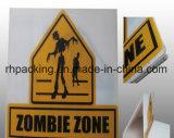 Обработанные короной знаки белизны 1220*2440mm/Warning рифленого листа PP Coroplast Corflute Correx Board/PP печатание твердые