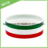China-Fabrik-Großverkauf personifizierter SilikonWristband für förderndes Geschenk
