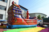 Super Cool Red Color Buccaneer Ship Inflatable Slide for Kids