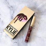 Kylie nuevo lápiz labial de llegada + labios lápiz labial maquillaje impermeable brillo labial Set