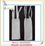 Fabricante tejido del bolso de filtro de la tela de la eficacia alta
