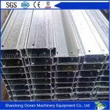 Purlin c полуфабрикат раздела стальной для системы толя светлой стальной структуры