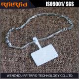 宝石類管理のためのUHF盗難防止RFIDの使い捨て可能な札