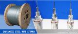 Гальванизированная стренга стального провода 1*7 для делать оптически кабель