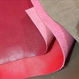 Corpo de couro sintético de microfibra suportando a mesma superfície para sacos