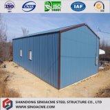 산업 응용을%s 전 설계된 강철 건물 또는 창고