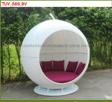 Daybed ensolarado de vime ao ar livre de H-China Apple