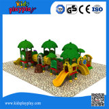 Campo de jogos das crianças baratas/equipamento seguros ao ar livre da área jogo dos miúdos