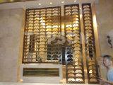 L'acier inoxydable d'or titanique de Topson examine des diviseurs de pièce pour la décoration intérieure