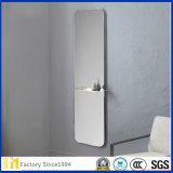 3-6 [مّ] إطار يشبع طول جدار يرتدي مرآة مجّانا يقف أرضية مرآة