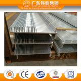 Profil en aluminium d'extrusion de châssis de porte et de fenêtre