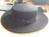 Casquillo elegante superior plano de la empanada de cerdo de la alta calidad del sombrero del estilo de Inglaterra