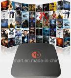 Casella astuta di Andoid TV di nuova di arrivo di Tvbox del Android 6.0 di Amlogic S905X Tvbox S905X memoria astuta del quadrato