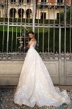 Adalla fora dos vestidos da princesa casamento do ombro