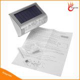 9LED PIR Fühler-helles Yard-Patio-Pfad-Solarzaun-Solarlicht-drahtloses Solargarten-Licht
