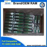 대량 비 패킹 Ecc 2 바탕 화면 8GB DDR3 렘 1600MHz 1.5V