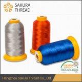 Cuerda de rosca resistente viscosa 120d/2 de Oeko-Tex alta - temperatura -