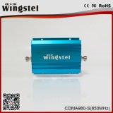 Aumentador de presión profesional de la señal del teléfono celular de CDMA980 850MHz 2g con la antena